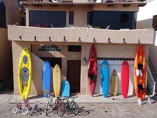 Kayaks/Surfboards/SUPs - Endless Summer Villa