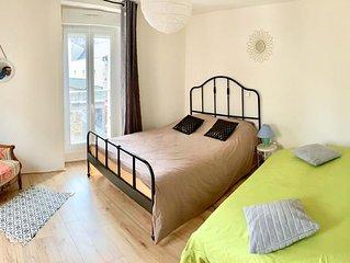 Appartement familial, pour 7 personnes, à 10 min du Mont Saint Michel