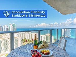 Luxury condo with amazing ocean & city views | WIFI + Alexa + Netflix Ready