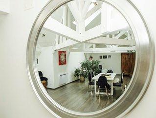 #Loft140m2#CentreVille#Terasse#Atypique#Splendide