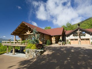 TN Mountain Lodge: sleeps 22+ lake, hikes, hot tub, Sauna