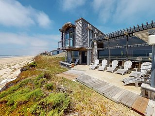 SPECTACULAR OCEAN-FRONT HOME IN MONTEREY BAY