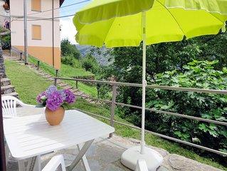 Ferienhaus Angela (AUA110) in Aurano - 4 Personen, 1 Schlafzimmer