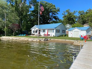 Beautiful Blue Turtle Cottage on Patterson Chain of Lakes