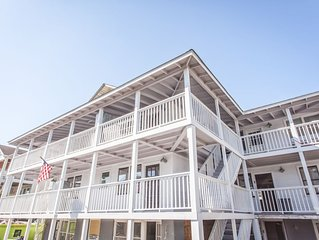 2 bedroom completely renovated Condo steps from the beach.