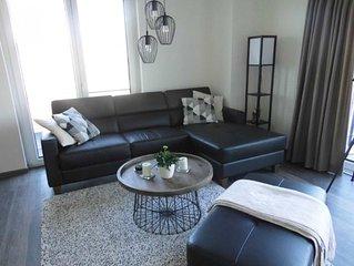 Schönes Penthouse, 1 Schlafzimmer, 1 Bad, Sauna, Kamin, WLAN