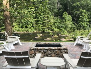 Large Recently Renovated Home on the Amazing Cheoah River: 8 miles to the Dragon