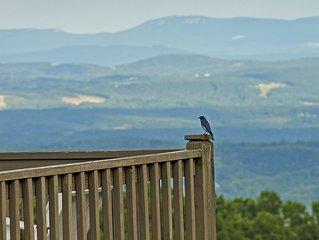 Fancy Gap Va overlooking Pilot Mountain, fantastic seven county views.