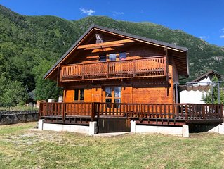 AX THE SPA / ORLU CHALET WOOD SPACIOUS COMFORTABLE