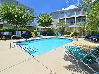 Oceanview and dog friendly townhome with pool and plenty of space!