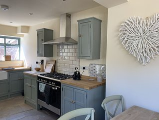 Brand new beautifully restored  cottage by the sea