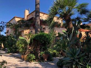 Villa unique 5 chambres, bord de mer, San Cyprianu Corse du Sud