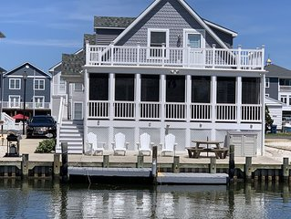 Fenwick Island -Waterfront 4 Bedroom Home, Swimming Pool, Boat Dock