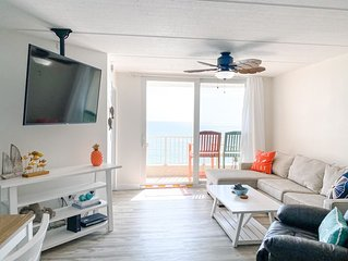***NEWLY RENOVATED*** Direct Oceanfront Beach Condo on No-Drive Beach