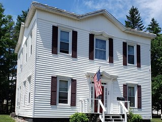 Private colonial 3 bedroom house near all Saratoga attractions!