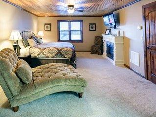 Luxury Suite at Willow Creek Falls in Blue Ridge, GA