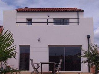 Maison avec toit-terrasse, proche plage. VENDEE - LONGEVILLE SUR MER.