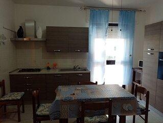 Appartamento confortevole a 350 m dal mare.