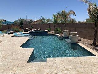 Upscale Home with Huge Resort Style Backyard