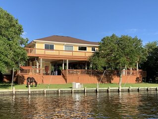 GOOD TIMES! Waterfront house - open floor plan!