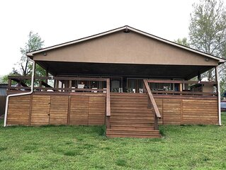 Duck Creek waterfront lake house with private dock