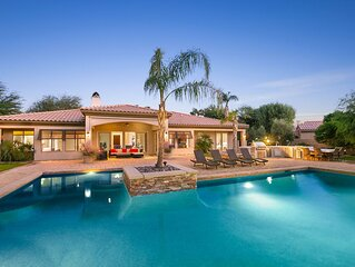 'Sunset Canyon' 5 BR Villa with Private Pool & Spa!