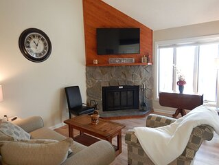 �️❤️ Gorgeous Wintergreen Condo – 2-min to Slopes