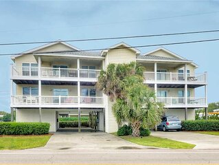 Belle's Porch: 3 bedroom condo, Oceanview - Second Row with Ocean Views, Large K