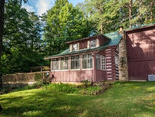 Atop Pine Hill Log Cabin