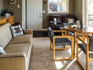 New listing! Coastal retreat w/ bay views, private deck, & charming decor!
