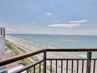 Enitcing Ocean View Condo located on the blvd