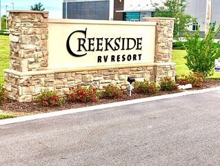 RV Lot #43 * Creekside RV Resort in Foley AL