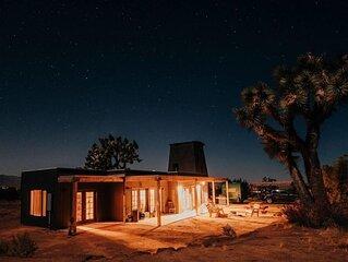 Joshua Tree Hidden Tower Ranch -private, great views,  landmark!