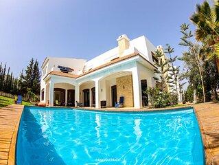 magnifique villa piscine sur agadir