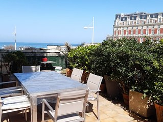 Emplacement exceptionnel a Biarritz