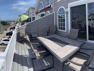 Beautiful 4-bedroom, beach block home close to downtown Sea Isle City!