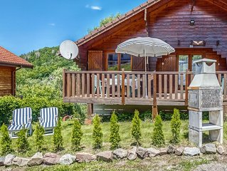 Detached chalet with sauna near ski pistes in the heart of the Vosges mountains