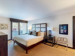 Ski-in/out hotel room w/ WiFi, airport shuttle, hot tub, pool, gym, steam room!
