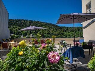 Villa les dahlias -gite de charme au  Mont-Dore -Prenez un bol d'air pur