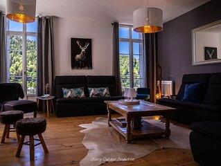 Villa les dahlias -gîte de charme au  Mont-Dore -Prenez un bol d'air pur