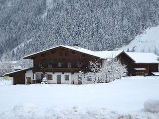 Ferienwohnung Gredler in Mayrhofen - 4 Personen, 1 Schlafzimmer