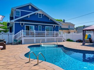 Two Blocks to the beach w/in ground saltwater pool in Point Pleasant Beach, NJ