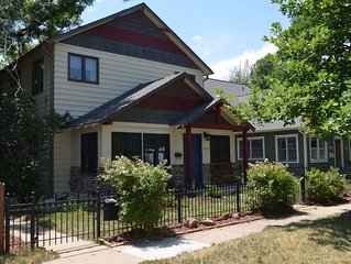 Amazing home in the heart of Boulder, near everything, comfortably sleeps 8
