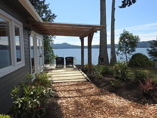 Ocean Front Cottage in Sooke on Vancouver Island Kayaking Hot Tub