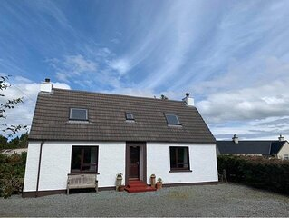 Traditional Croft House With Private Garden And Mountain Views.
