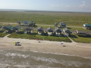 BEACH FRONT with panoramic views of the Gulf Coast.