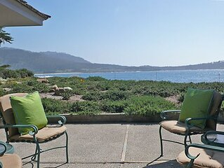 Newly  Available Oceanfront Retreat W/Carmel River Beach and Point Lobos Views