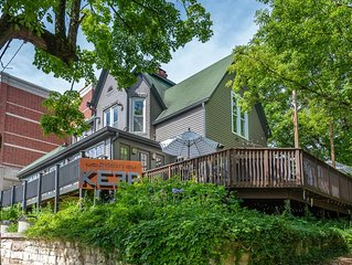 Luxury vacation rental in the heart of Bloomington and the IU campus