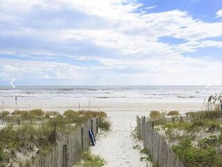OCEANFRONT condo w/ new renovations throughout. Steps from the sand