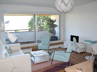 studio de 34 m2 avec vue mer a Port Navalo